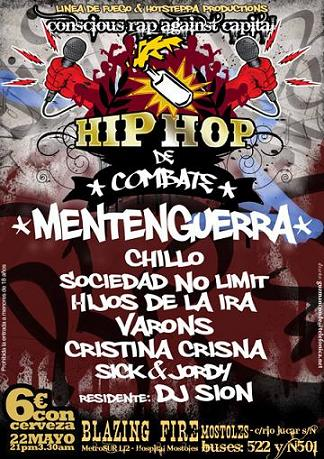 hip hop combate