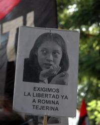 Marcha por la libertad de Romina tejerina