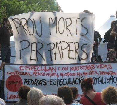 Fin de la huelga del CIE de Zona Franca 3777bien