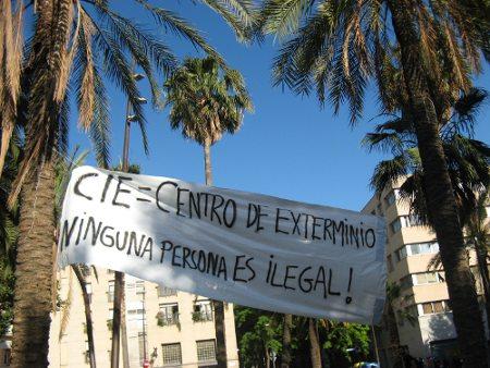 Fin de la huelga del CIE de Zona Franca IMG_3867