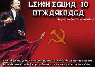 Lenin Eguna 2010 LENINEGUNAKARTELA