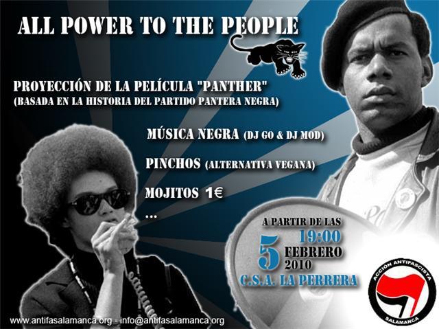 "[Salamanca] Jornadas ""All Power to the People"" Allpowertothepeople"