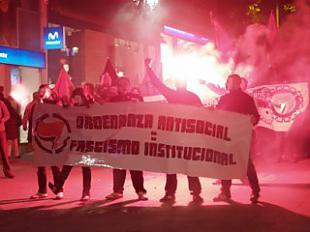 España protesta