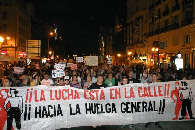 29S_Madrid_ hacia la Huelga