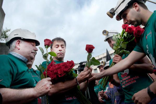 rosas mineros