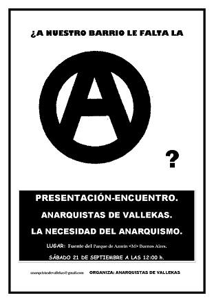 presentacion anarquistas de vallekas