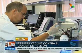 Cuba aplica gratis la primera vacuna contra el cáncer de pulmón